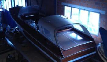 EWA Holzboot Rarität voll