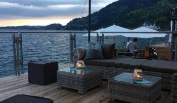 Bootsplatz Wasserplatz Motorboot Nidwalden voll