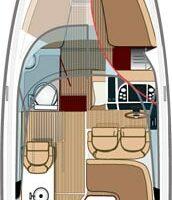 Aquador 28 DC Daycruiser Boot-048