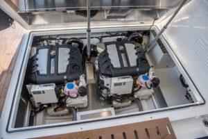 Aquador 35 AQ Hardtop Cabin Kabine Boot-271