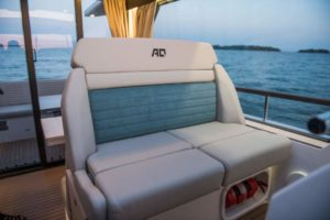 Aquador 35 AQ Hardtop Cabin Kabine Boot-300