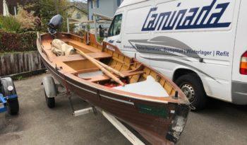 Waser Ruderboot mit Motor 8 PS voll